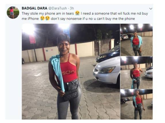 3 80 - This Beautiful Nigerian Lady Needs Someone That Will Fvck Her And Buy Her An iPhone