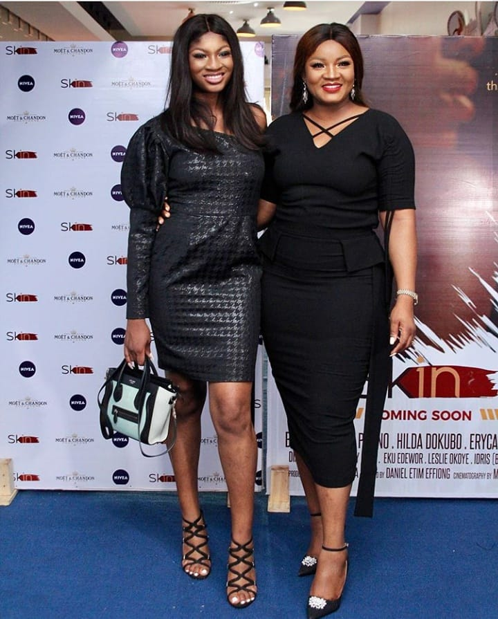 "3 - Omotola Jalade-Ekeinde, Mo Abudu, others spotted at the Premiere of Beverly Naya's Documentary ""Skin"""