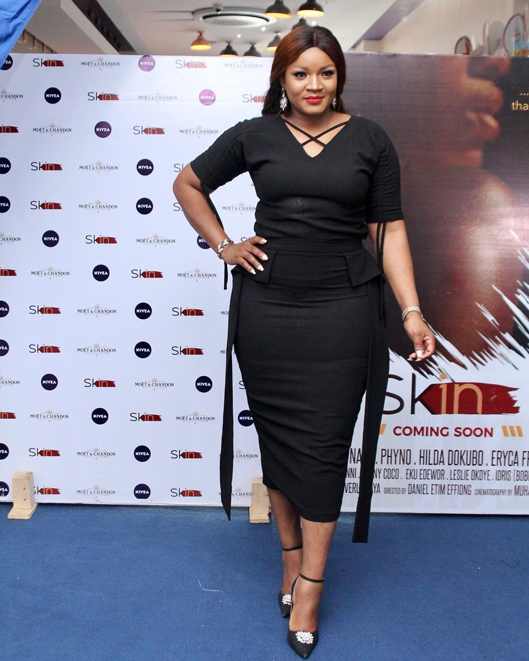 "4 - Omotola Jalade-Ekeinde, Mo Abudu, others spotted at the Premiere of Beverly Naya's Documentary ""Skin"""