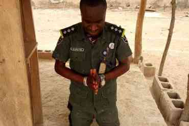 Nigerian Officer Celebrates in God's Presence After Fighting Insurgents