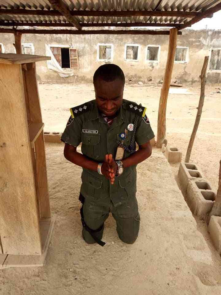 57606598 1844411968993260 2833403995484061696 n - Nigerian Soldier Celebrates in God's Presence After Fighting Insurgents