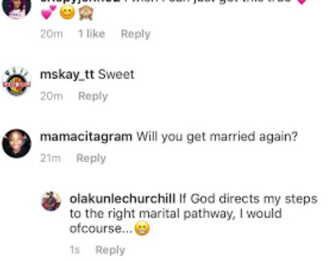 5ca733afe7d3d - Tonto Dikeh's ex-husband Olakunle Churchill speaks on remarrying