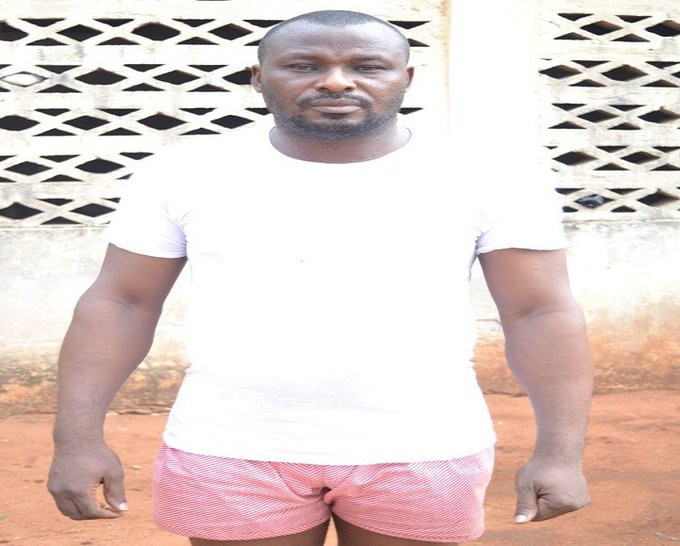 [Photo]: Fake army officer nabbed in Delta state