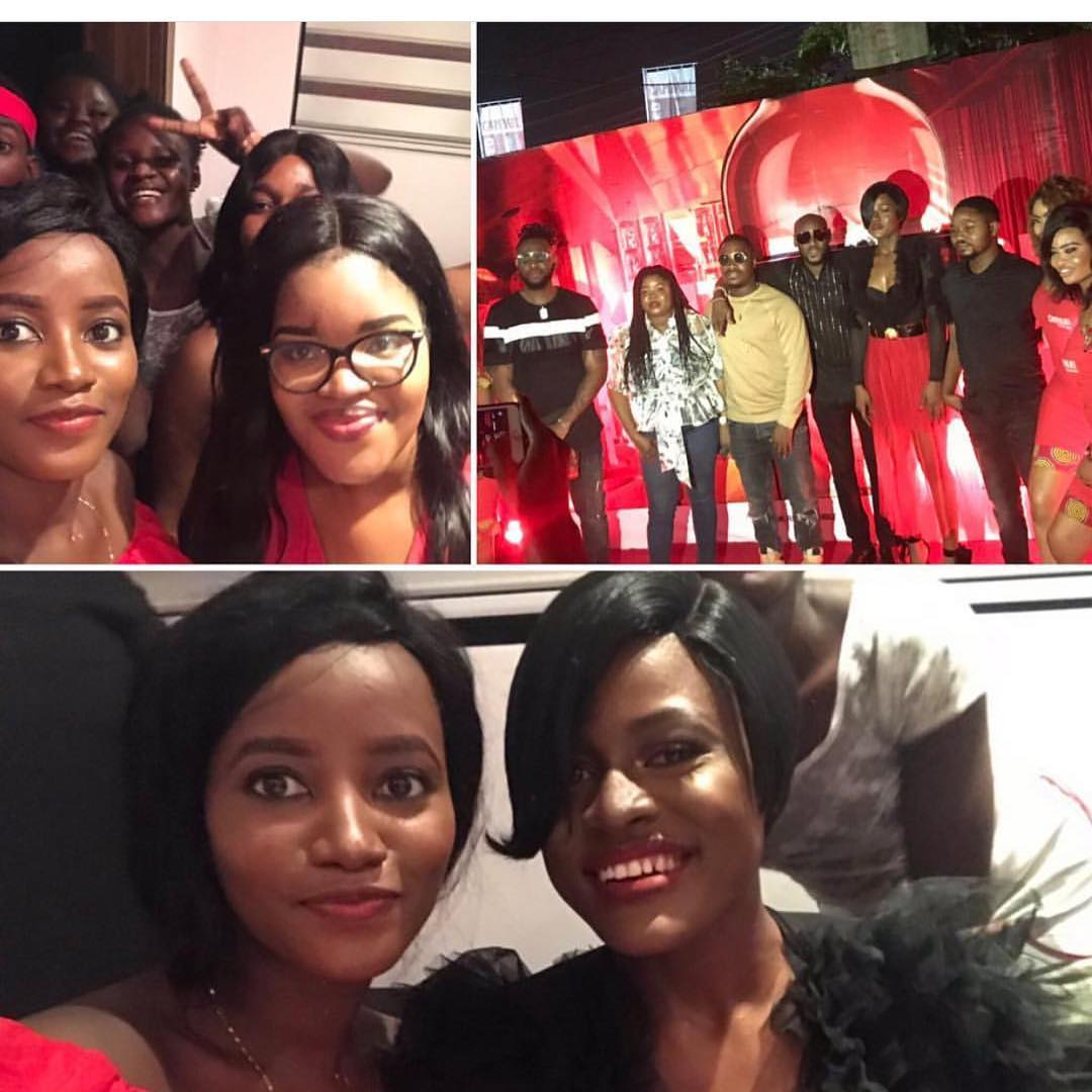 5ee52e7528797b0207a700db4a8810a9 - BBNaija Alex spotted with TeddyA and 2baba at Campari Lagos Party [Photos]