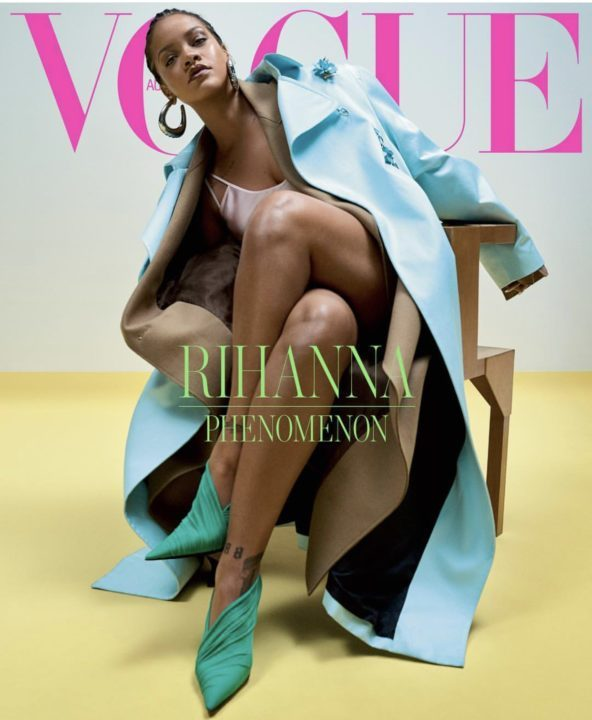 71F0C58F C2E3 4318 B1E2 7A9A783EE539 - [Photos]: Rihanna slays in cornrows as she covers Vogue magazine