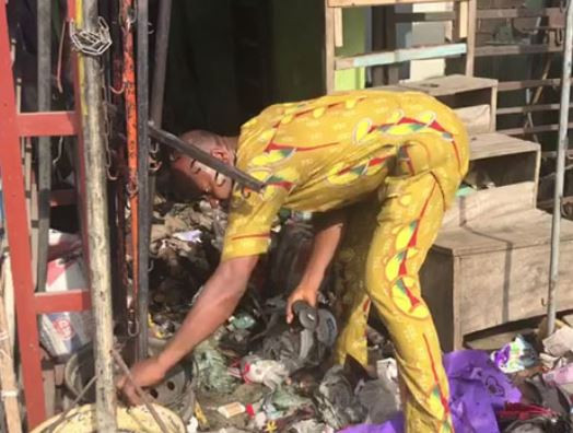 9133072 5ca995945d760 jpegd8ad18a0e467013751dd5c4d99dbd7f6 1 - See Pictures: Fire outbreak destroys market in Lagos