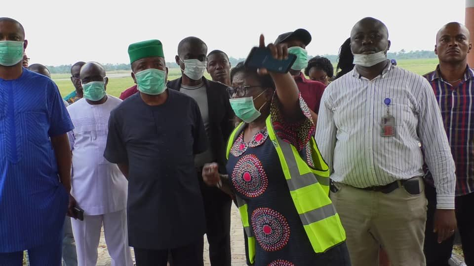 9142716 d3pl9cxw0aehciz jpeg jpega7c5ef52ec43152fdacbf8f5b9d7e90e - [Pictures] Governor-Elect Ihedioha Visits Imo Airport after Fire Outbreak