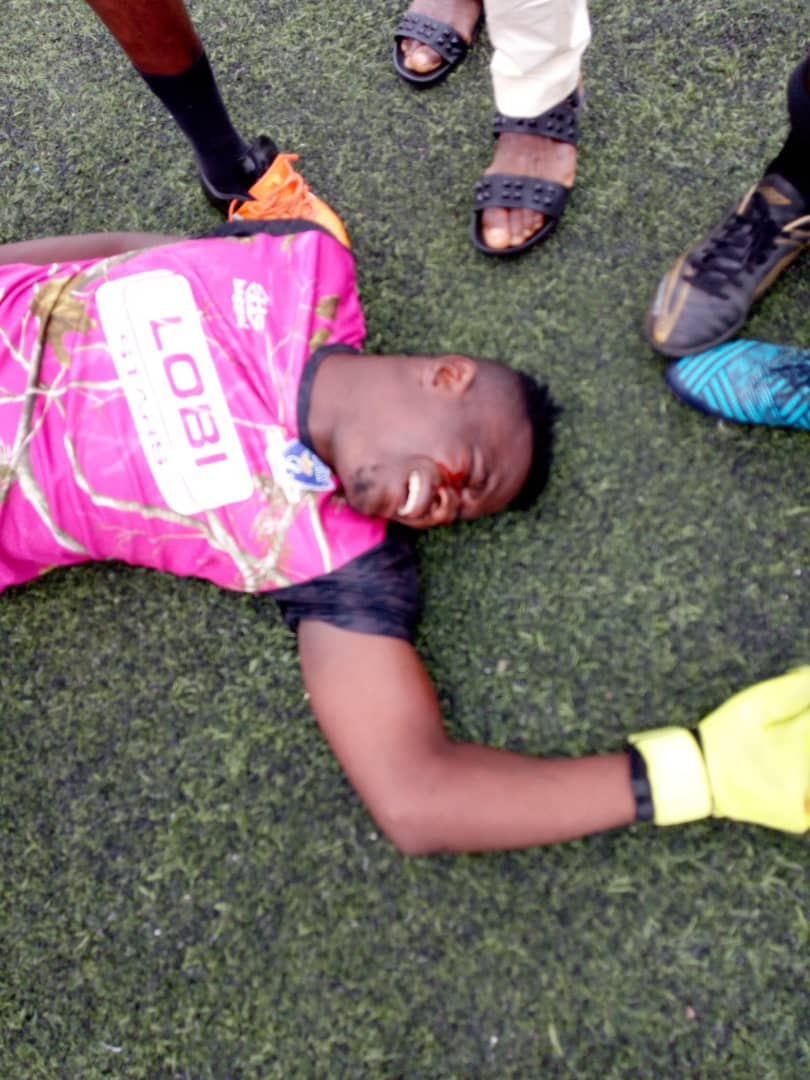 9164324 img20190411175543 jpeg6715c5050de347f0dc9719a362c81b2b - Football Coach Punches Opposition Goalkeeper During League Match [See pictures]