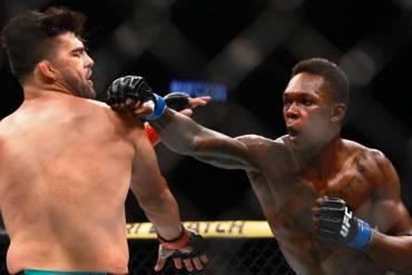 Nigerian Born Adesanya Wins First UFC Belt