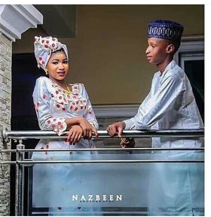 9180444 screenshot201904141309461 jpega6481cc5dd48cc9cbf19f1413f558394 - See Teenagers Pre-Wedding Pictures That Got Nigerians Talking