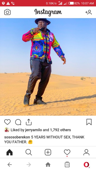 Former FiveStar Music Manager, Soso Soberekon Celebrates 5 Years Without S*x