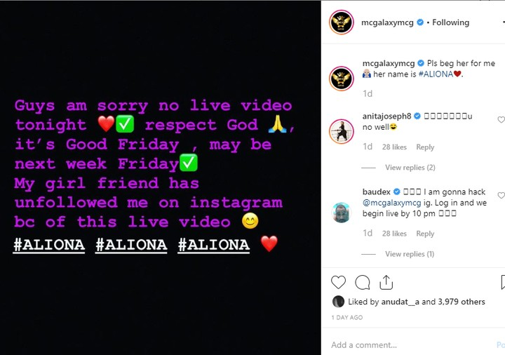 MC Galaxy Leaves Fans Hanging on Good Friday