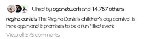 9266637 screenshot201904270156183 png89c84fe44160427ad96c06a1751a8eb6 - Nollywood actress Regina Daniels set to host children's day program