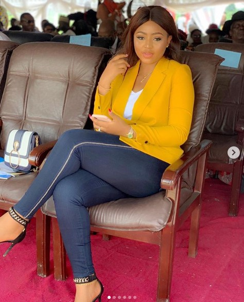 Nigerians Say Regina Daniels Boobs Has Gone Flat After She Share These Photos