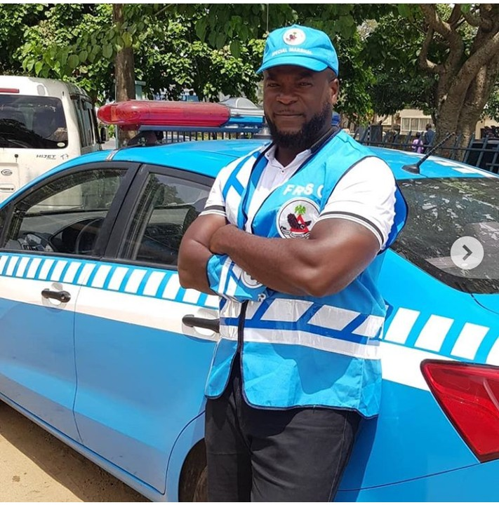 9270391 screenshot20190427194557 jpegfc64bf69778d4ce819a2cfd342348693 - Nollywood Actor Emmanuel Ehumadu Spotted on FRSC Duty [pictures]