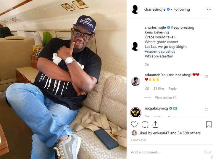 Actor Charles Inojie Engages in Heated Exchange of Words with Followers [See Conversation]