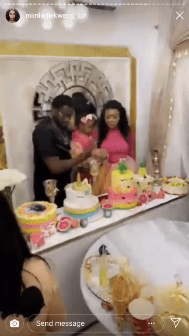 A720451F 1CBF 4907 B8AC E2BE2807A2FA 1 - Mimi Orjikweng and ex-husband Charles Billion throw lavish birthday party for their daughter