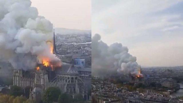 C6DAFFEB C587 401C BB79 2D2B269B063A - [Photos]: Notre Dame: Major fire ravages Paris cathedral