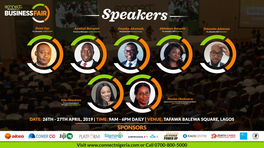 CONNECT NIGERIA SPEAKERS blogpostArtboard 1 2 - All The Connections Your Business Needs Under One Roof: Connect Nigeria