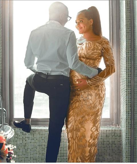 Capture 2 - [Photo]: Tania Omotayo releases beautiful new photo of herself and husband Sumbo