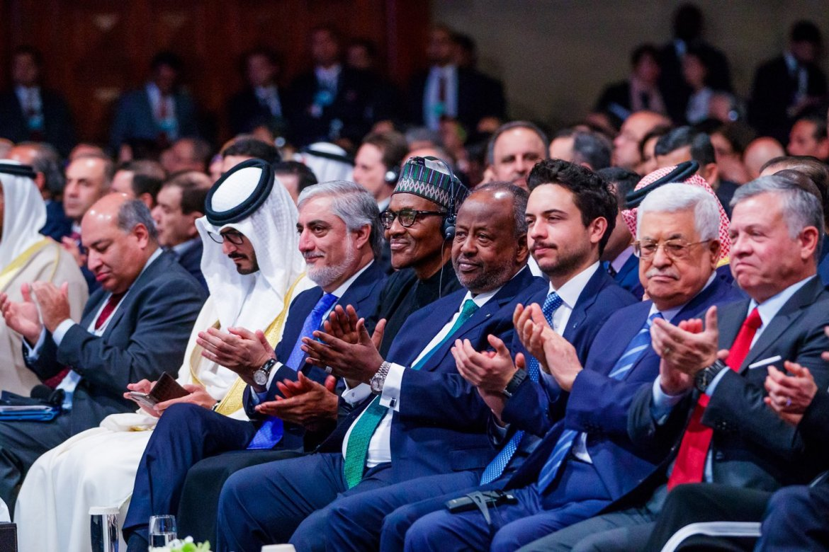 D3dsU0RXsAACWap 1 - President Buhari delivers keynote speech at World Economic Forum [See pictures]