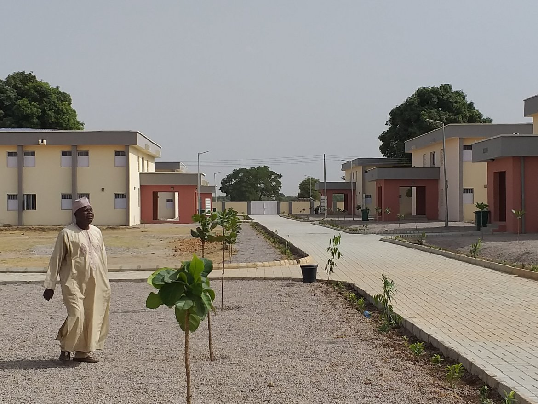 D5LvTmKXsActzb6 - Richest Man Aliko Dangote Donates New Hostels to ABU Zaria [Pictures]