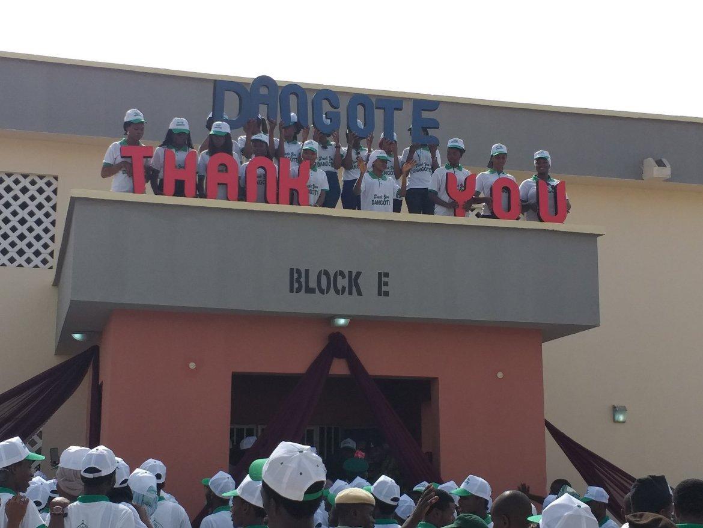 D5LvWcOX4AAOppf - Richest Man Aliko Dangote Donates New Hostels to ABU Zaria [Pictures]