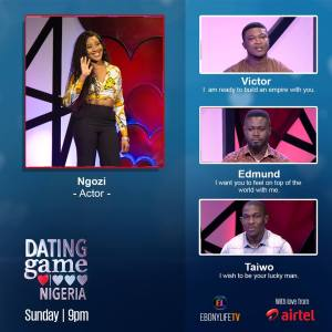 DGN 1 - Gameshow Review: The Dating Game Nigeria show