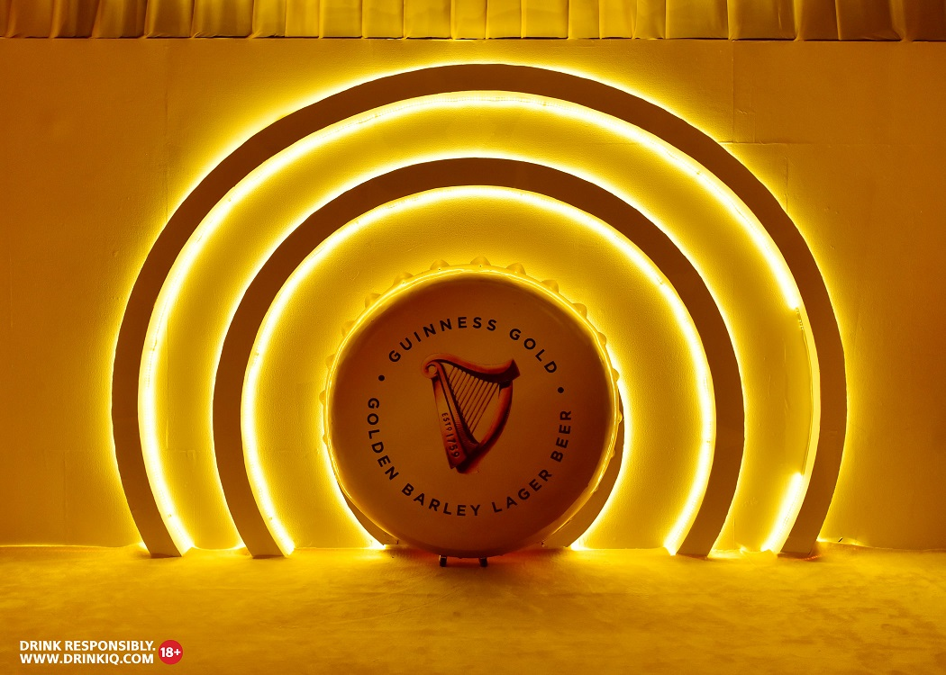 Guinness Gold 2 - Guiness Gold Launches In Style