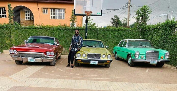 IMG 20190426 191542 - Nollywood Director Kunle Afolayan Displays His Vintage Cars Collection