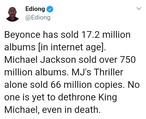 Screenshot 20190420 1915162 - Nigerian Lady Ranks Beyonce as the Greatest of All Time