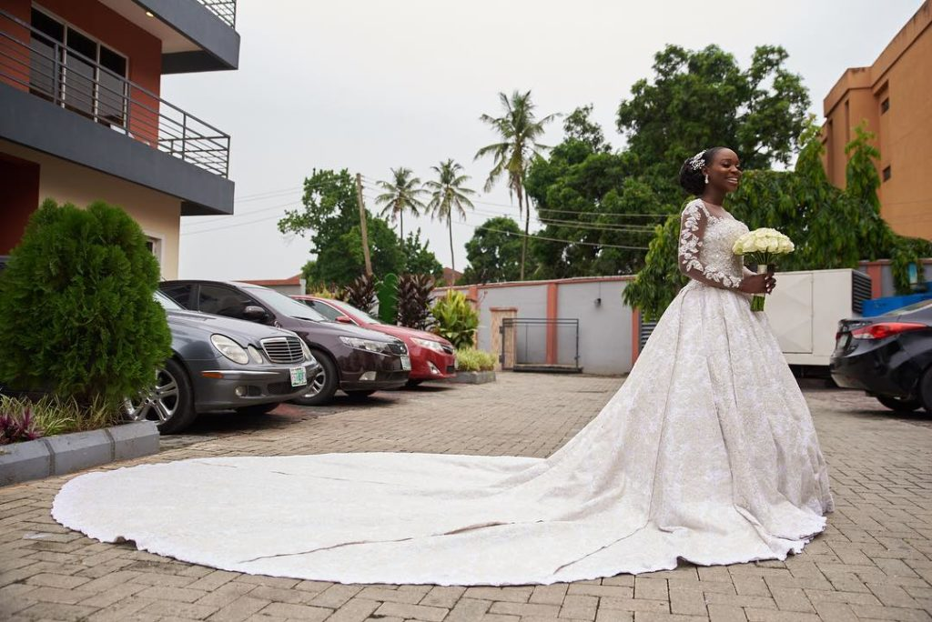 Tomike Alayanade Tosin theTTAffair3 1024x684 - [Photos]: See first photos from TV girl Tomike Alayande's wedding