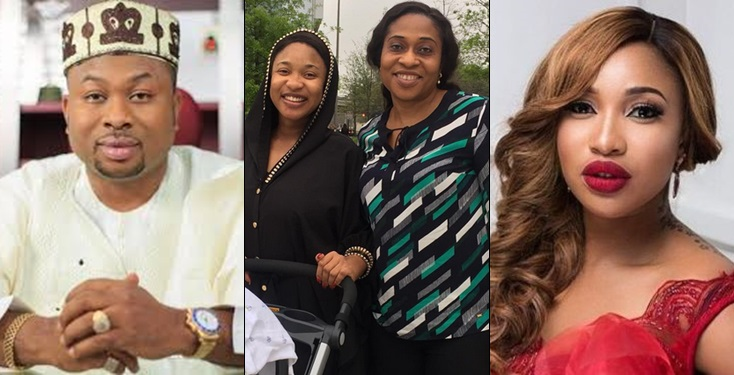 Tont 1 - 'RACHEAL IF I PUSHED YOU DOWN MAY GOD PUSH EVERYTHING ABOUT ME DOWN' – Angry Tonto Dikeh Places Curse On Her Ex-Hubby's Mum