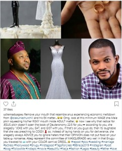 """chur - """"Remove your mouth that resemble anus experiencing economic meltdown from Tonto Dikeh And Estranged Husband Matter"""" – Actor Slam Bobrisky"""