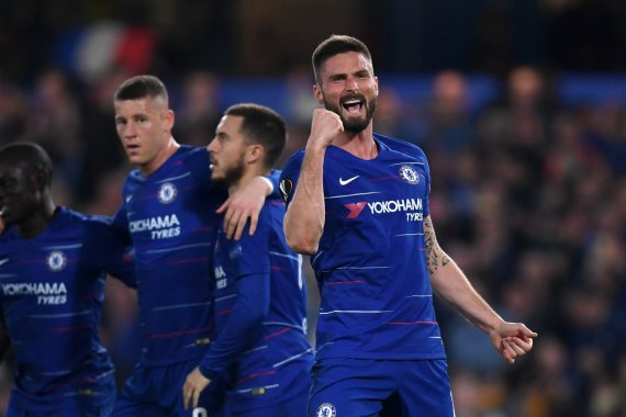 Giroud Sets Europa League Record