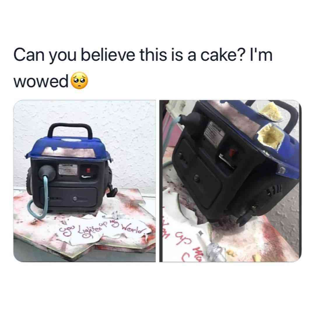 icannotknow 25 4 2019 9 25 59 537 - [Photos]: Nigerian man shares amazing pictures of cake made in form of a generator