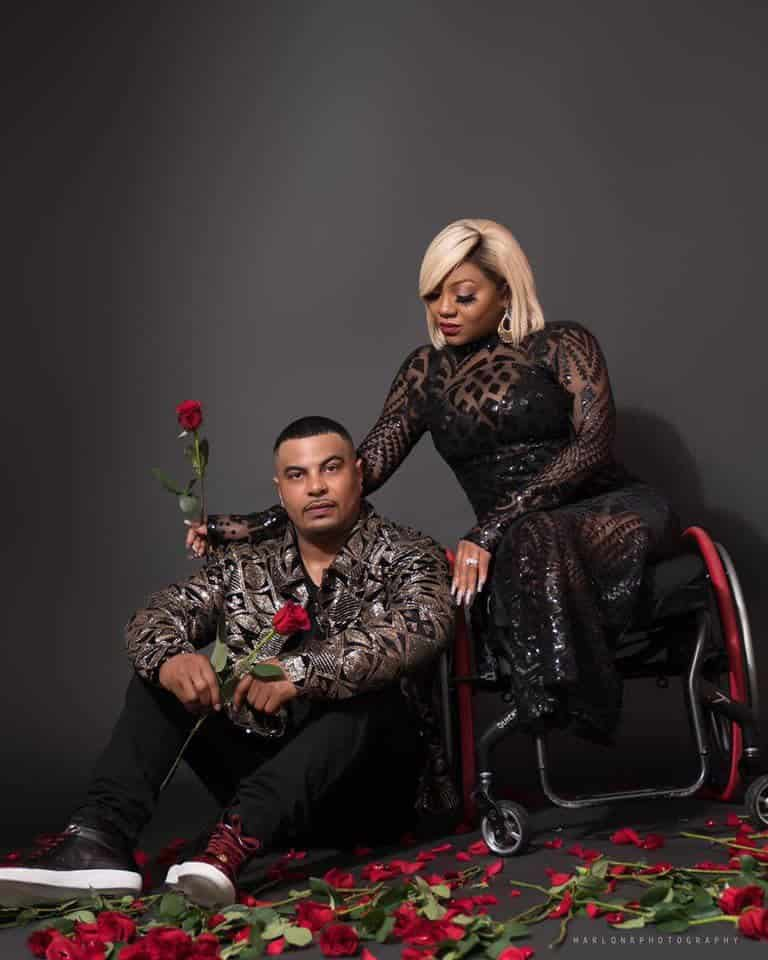 img 20190412 1152114247536474396071739 - Tears As Man Proposes To His Physically Challenged Girlfriend Of 17 Years