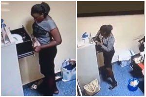 m 1 - Video: Yabatech Student Caught Stealing 500k