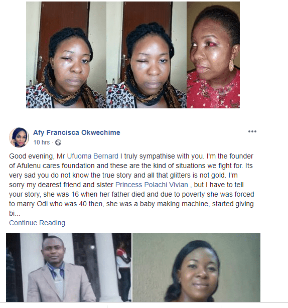 n 1 - UPDATE: Friend to lady who sent thugs to beat her husband to death shares interesting new information