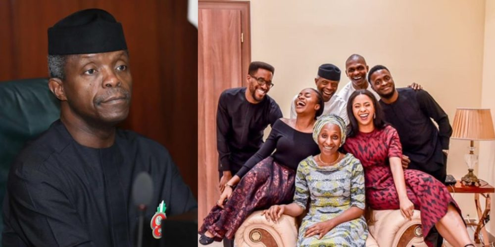 photogrid 1543165649326917912214283315662 e1543165783964 - 'I Never Believe I Will Be Vice President' – Must Read Revelations About Osinbajo's Life And Family