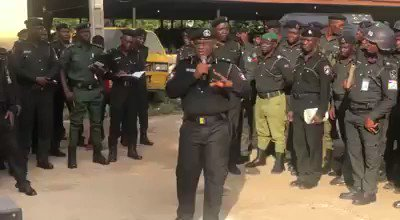 shogunle - Video: Head Police CRU, Yomi Shogunle, Talks Tough With Men Advises Public To Stop Speaking Queens English With Police To Avoid Melee