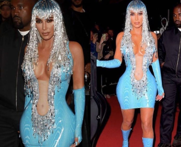 [Photos] Kim Kardashian looks unrecognizable to the 2019 Met Gala after party