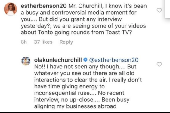 1 7 - 'I have no time for inconsequential ruse' – Churchill breaks silence