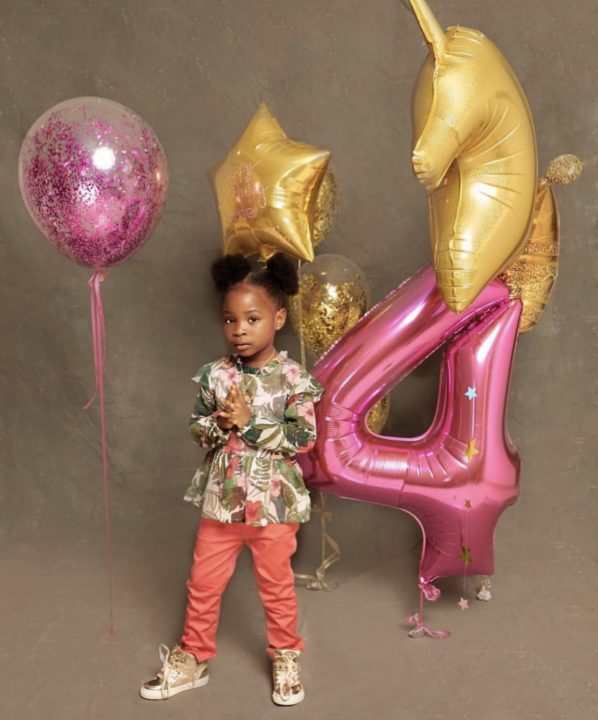'You changed my life' - Davido celebrates the love of his life as she turns 4