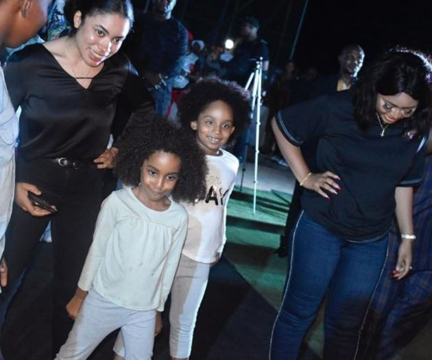 2 - [Photos]: Regina Daniels steps out with her husband and his kids