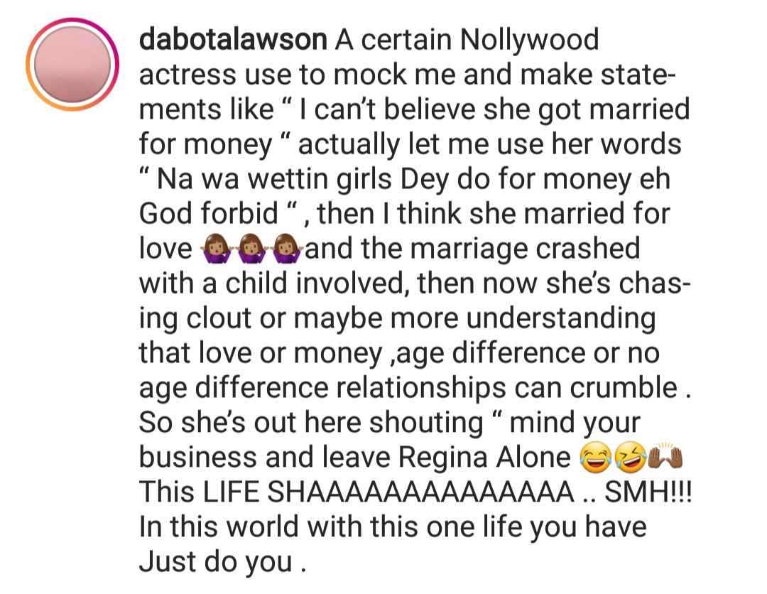 5cc9ad24be8a8 - Dabota Lawson drags Yvonne Jegede on social media