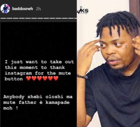 5cd1be885ed1d - Lol! Olamide thanks Instagram for this one feature