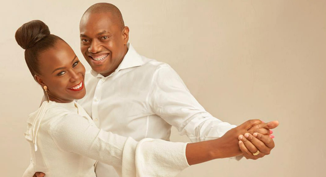 """5cd7cd9df04c1 - """"Thank you for being the real meaning of a Husband"""" Tara Durotoye celebrates her husband"""