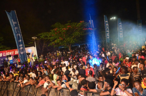 8 - Peruzzi, DJ Consequence & Qdot Thrill Fans at the TECNO Spark 3 Party
