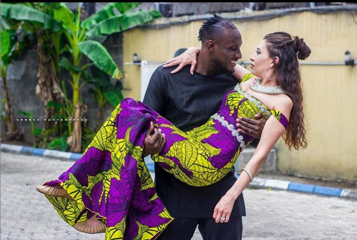 9304691 angel jpeg30438271ffea8a9710b2d7894e637c7c - BB Naija Star, Angel Shares Cute Photo of Himself and Wife [See Picture]